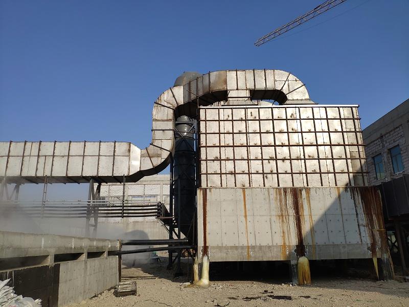 供暖锅炉脱硫脱硝除尘脱白4