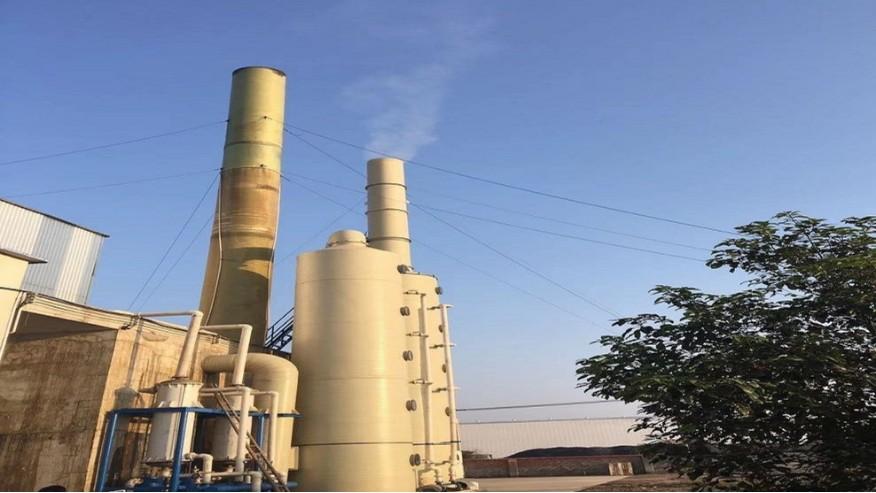 湖北鳌合农业复合氨基酸废气除臭治理项目