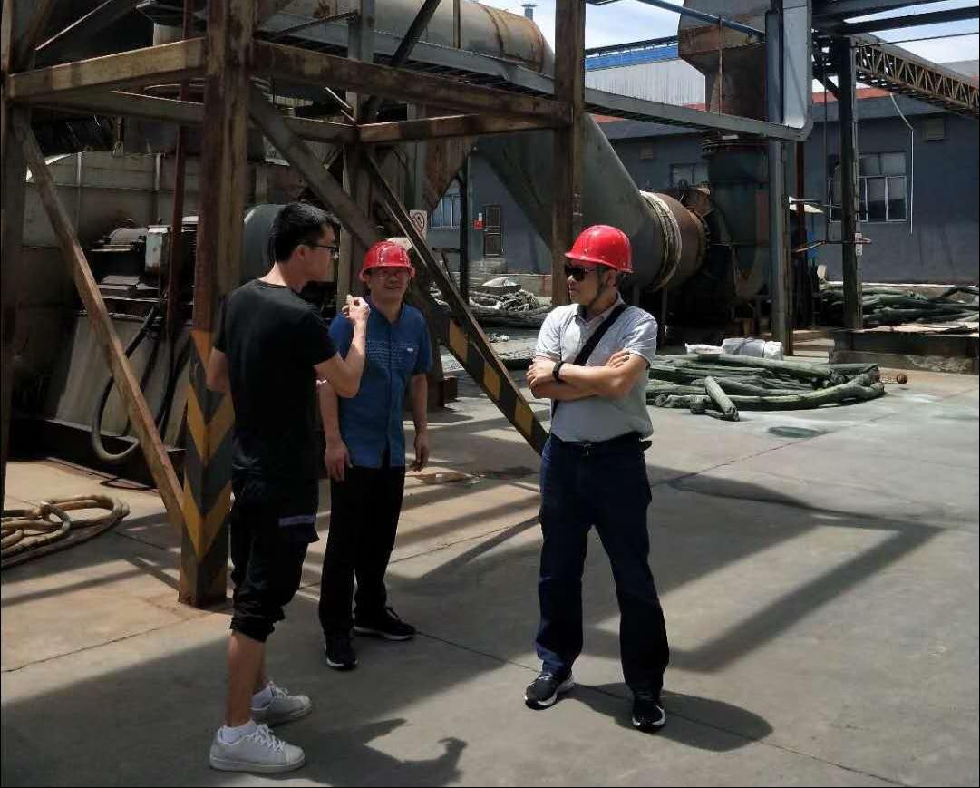 江西铜再生公司技改项目现场考察-博莱达环境
