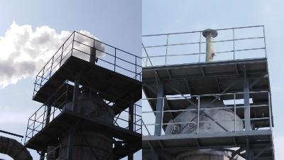 钢铁烧结冶炼炉炼焦炉烟气脱白解决方案