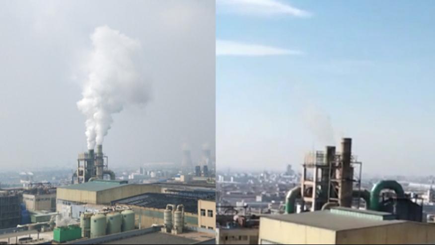 亚洲Z大钛白粉企业窑炉烟气脱白项目