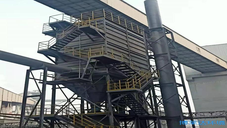 炼铁高炉除尘