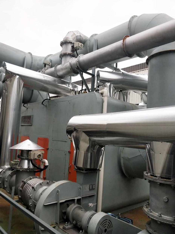 机械加工喷涂油漆沸石转轮吸附+RCO脱附-博莱达环境