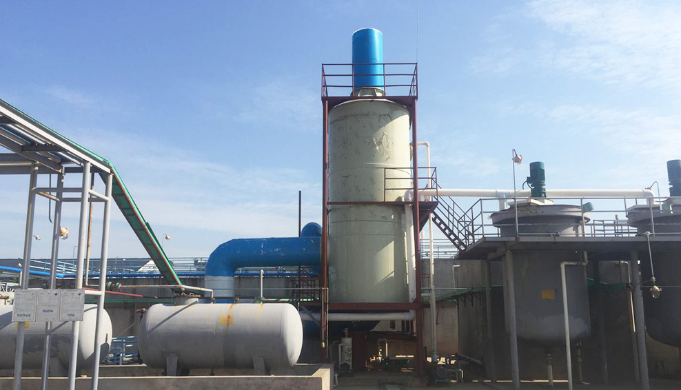 污水厂生化池恶臭废气解决方案