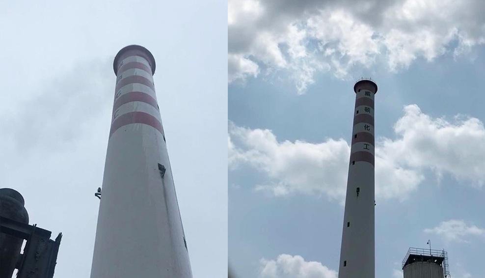 贵州某硫酸化工脱硫尾气脱白除酸雾项目
